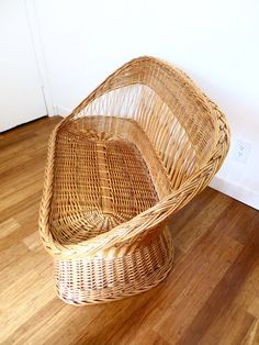 Vintage natural woven rattan wicker barrel back or tub settee/loveseat in very good vintage condition! It has one slight break on the braided edge. Made in Yugoslavia. Perfect for a small room or porch. Bohemian modern, traditional, or cottage style! Cushion is not included with settee. Dimensions 29H 46W 25D 14H Floor to seat 20D seat 36W seat  **Shipping is not free.**Please contact me with your zip code and I can get a quote from Plycon freight company for you. You can also get compet...