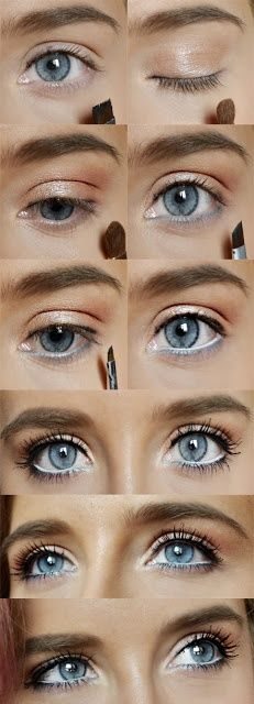 Eye Makeup Tips For Blue Eyes Best Ideas For Makeup Tutorials Eyeshadow Tutorials For Blue Eyes. Eye Makeup Tips For Blue Eyes 5 Makeup Looks That Make Blue Eyes Pop Blue Eyes Makeup Tutorial. Eye Makeup Tips For Blue Eyes… Continue Reading → Rock Makeup, Blue Eye Makeup, Diy Makeup, Beauty Makeup, Makeup Eyeshadow, Clown Makeup, Halloween Makeup, Makeup Light, Witch Makeup