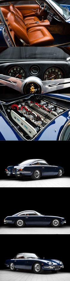1965 Lamborghini 350 GT / Carrosseria Touring / chassis no. 0331 / Kidston.com / blue brown / Italy / 17-268