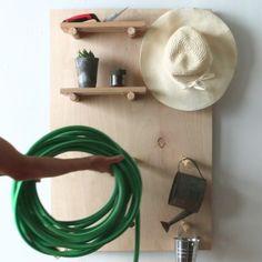 Adjustable Pegboard Shelf