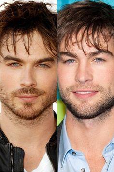 No wonder I like them both They're practically twins