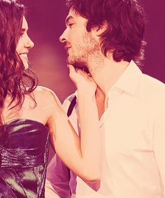 Never really watched TVD, but maan these two are too adorable!