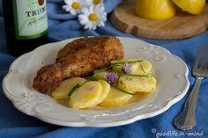 Aus der Alpenküche Backhendl mit Erdäpfelsalat - goodlife.in-mind.de