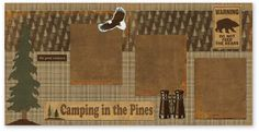 Camping in the Pines
