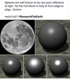 You know how the moon is sometimes a crescent, and sometimes a circle? It's because of this very phenomenon. The angle the sun hits the moon changes and you can see more or less shadow depending on what part of the cycle the moon is in.