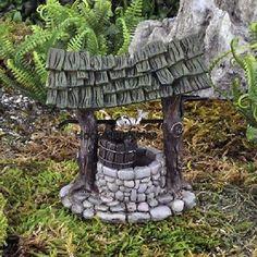 Miniature Mini Wishing Well  17396  Fairy Garden Dollhouse Terrarium