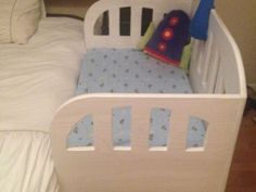 By-my-side cot for sale, custom made to fit along side any bed,kid has outgrown it, takin up space.