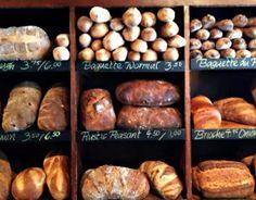 Cafe Le Perche Breads in Hudson NY.