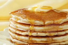 Fast, easy, and delicious pancakes from scratch.  Who could say no?