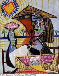 #Picasso - Le fleuriste - 1937 #Painting #Art