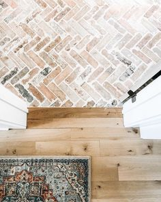 Town Country Haus, Brick Flooring, Floors, Minimalist Decor, Little Houses, Cheap Home Decor, Home Decor Accessories, Home Remodeling, Bathroom Remodeling