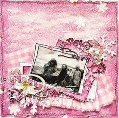 For DT Scrapujace Polki :))  I love cold pink ;)