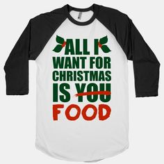 I will for real be your best friend if you get me this for Christmas. All I Want For Christmas Is Food