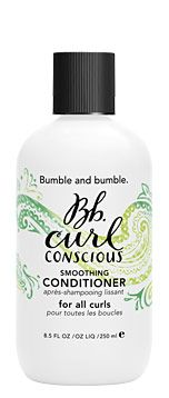 curl conscious smoothing conditioner turns the dreaded curly tangles into the dream cascade curls with light moisturizers to hold curls natural shape. Great for natural or chemically curly hair