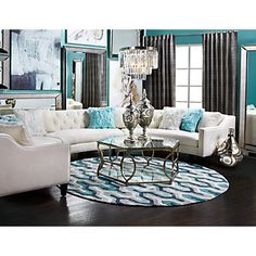 I already have these colors, I must get this couch!  Circa Sectional - 3 Piece | Sectionals | Living Room | Furniture | Z Gallerie