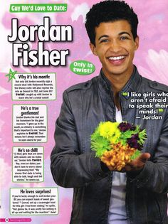 JORDAN FISHER - Guys We'd Love To Date