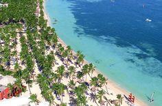 Vista aérea Playa Dominicana