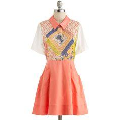 Bridle Bliss Dress ($263) via Polyvore