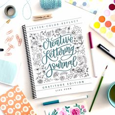 Creative Lettering Journal