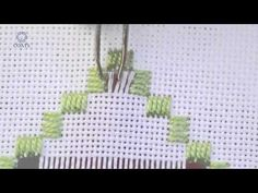 Learn How To Hem Stitch Ladder - 2 threads - YouTube