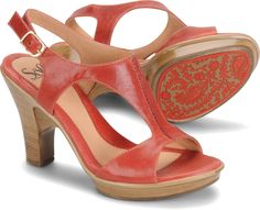 Sofft Vannie - Coral - View Sofft Womens