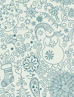 snowman-free-printable-adult-coloring-page.jpg (2500×3300)