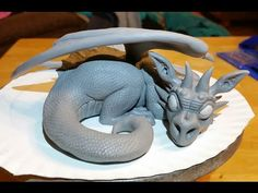 Hi! This is a timelapse video showing me sculpting a dragon out of polymer clay. Please let me know if you want to see more sculpting videos in the future. C...