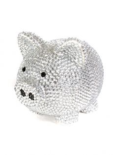I want to bling out a piggy bank -- like this one!!!
