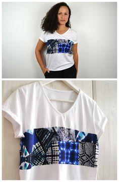 #DIY, #Fashion, #Refashion, #Sewing, #TShirt, #Upcycling