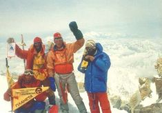 Traverse of the Kanchenjunga mountain massif. The first in history unprecedented traverse of all four peaks.  The second Soviet Himalayan expedition. Bukreev crossed the traverse of all four peaks from west to south. May 1989.