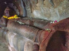 "Undavalli Caves - Believed to be constructed around 3rd Century AD, these caves are older than Hampi and Konark Temple in Orissa. The place Undavalli is little known and is just 4KM to the hugely popular Kanaka Durga Temple in Vijayawada. On the 3rd floor of the Caves is a 17 Foot Statue of Vishnu lying on his back, called the ""Anantha Sayana Vishnu""."