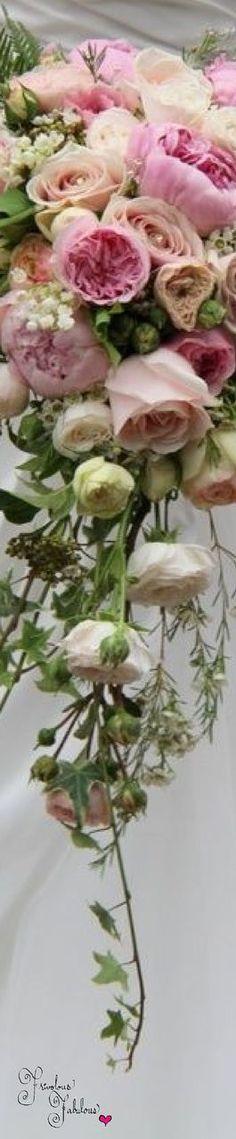 Frivolous Fabulous - Sweet Pastel Pink Bridal Bouquet