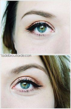 l'eye liner parfait Ünt eye intense #maquillage #eyeliner #facile