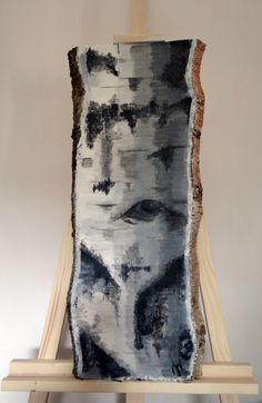 #birchtree #acrylicpainting