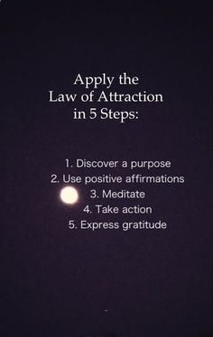 #Law of attraction #Positivity