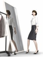 "Could Clo's ""Virtual Fitting Room"" Change The Way We Shop? #refinery29"