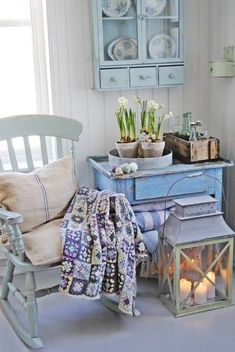 8 Super Genius Useful Ideas: Shabby Chic Bedroom Ikea shabby chic interior white wood.Shabby Chic Home Fairy Lights. Cocina Shabby Chic, Shabby Chic Mode, Casas Shabby Chic, Muebles Shabby Chic, Shabby Chic Kitchen, Shabby Chic Style, Shabby Chic Decor, Country Kitchen, Country Living
