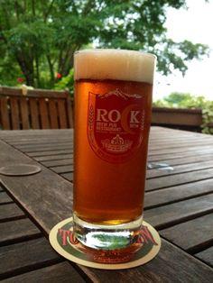 Rock Beer. Local Beer from Kiyosato, Yamanashi, Japan.