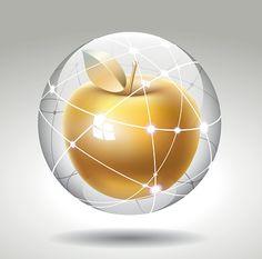 Золотое яблоко в хрустальный шар