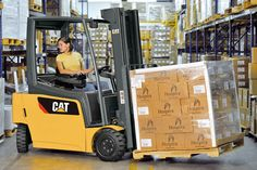 CAT LIFT TRUCKS Class I - Electric Counterbalanced EPC3000 Rental | Forklift Rental