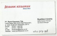 Bank Kesawan (Syahlefi Andra)