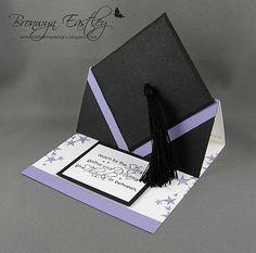 Graduation card; easel card