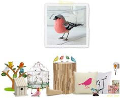 """""""Moodboard: Birds"""" by fitting-forward on Polyvore"""