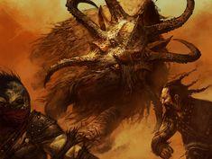 Sandstorm Charger - Dragons of Tarkir MtG Art