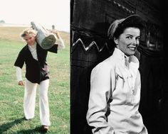 Style icon Katharine Hepburn. Gorgeous. #menswear on women #my queen #genderqueer style