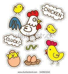 cartoon chicken patch, download link https://www.shutterstock.com/image-vector/cartoon-chicken-patch-540921040?rid=454507