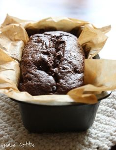 Organic Chocolate Zucchini Bread Recipe {Paleo, Gluten Free and Grain Free}