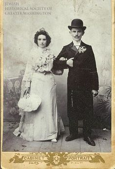 Cantor William and Jennie Tash arrived from Russia around 1911 and settled on 5th Street, NW. Until Cantor Tash found work, the family took in boarders, and the children sold papers on street corners.