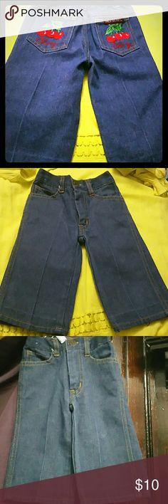 Emilio Balduci baby jeans Emilio Balduci baby jeans are adorable. It features cherries on the back pockets of the jeans. Emilio Balduci Bottoms Jeans