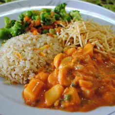 Receita de Estrogonofe De Legumes. Ingredientes, modo de preparo e dicas para uma receita mais gostosa.
